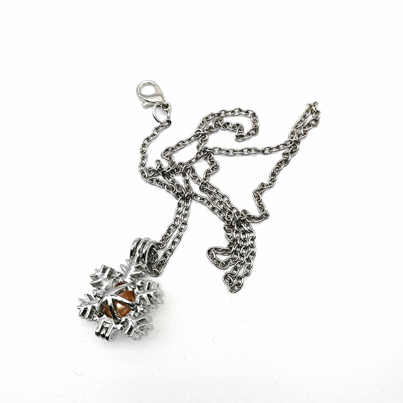 Christmas Cage Pendant Necklace