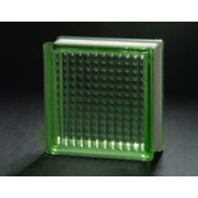 190 * 190 * 80mm grüner paralleler Glasblock / Glasziegel