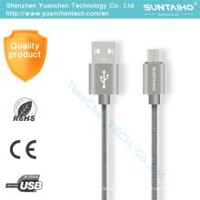 Cable USB de carga rápida Micro Data para Samsung Android Phone