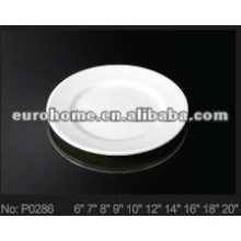 Ceramic/porcelain shallow/side plate(No.P0286)