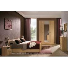 Ensemble de chambre moderne en bois pour meubles (HF-EY08269)
