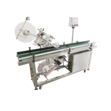 China factory price automatic top and bottom plane paper box labeling machine