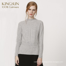 Chinese Sweater Factory High Classic Cashmere Sweater 100% Cashmere Pullover for Women