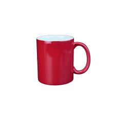 venda quente! 11oz Ceramic Heat Sensitive Full Color Changed Mug para sublimação
