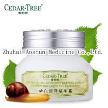 Crema de caracol blanqueadora e hidratante para el cuidado de la piel