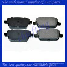 FDB1932 LR003657 LR023888 LR003655 1682005 1566234 MDB2887 plaquette de frein en porcelaine pour Land Rover Freelander
