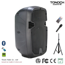 Factory Supply Portable 8 Inches Plastic Speaker Box with Multi-Function