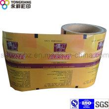 Пластиковая пленка для упаковки порошка