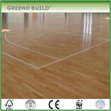 Canadian maple Hard wood basketball flooring