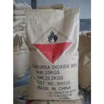 Poudre de cristal blanc Dioxyde de thiourée 99% Min