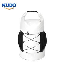 2020 New design 30L pvc waterproof kayak deck bag with bungee