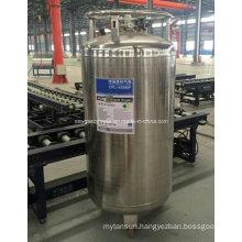 China 450L Liquid Oxygen/Nitrogen Cryogenic Cylinder