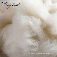 grand fournisseur de la Chine de la fibre de cachemire épilé
