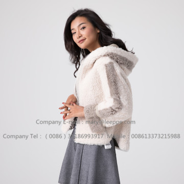 Winter Short Merino Lady Lammfelljacke