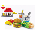 Children Toy DIY Block Fastfood Set Toy Block (H03120106)