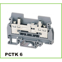 DIN Rail Blok Terminal Distribusi Industri 6mm2