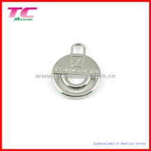 Vente en gros Shiny Silver Zipper Puller pour sac