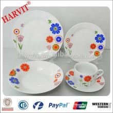 China Nuevos Productos Cerámica Vajilla Set / Cena De Piedra Conjuntos / Vajilla Azul Loza