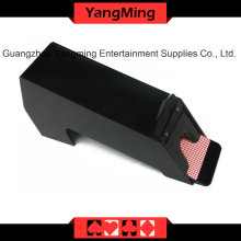 Acrylic Black Dealer chaussures de poker (YM-DS03)