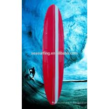 Vente chaude pas cher longue planche de surf / planche de surf fabriqué en Chine