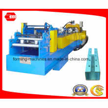 C Shape Purlin Machine with Pre-Cutting and Pre-Punching