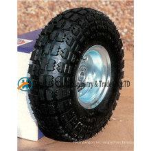 """Ruedas neumáticas de 10 """"X3.50-4 con rueda de goma"""