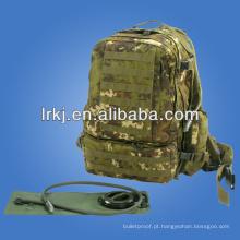 Grande mochila de transportador de água do exército camo
