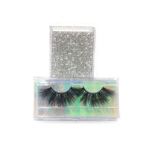 SL004F Hitomi Luxury Styles dramatic 3d mink eyelashes Wholesale Strip Mink Eyelashes Fluffy real 25mm mink eyelashes