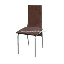 Chaise de restaurant à dossier Chaise à métaux en acier à manger