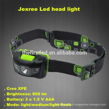 Jexree 800Lm 3 Modo impermeável Cree levou farol