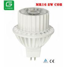 china wholesale led lightcob 8w 12v mr16 led spot light