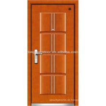 Sicherheit Sicherheit Türen Serie, Stahl Holz Panzertür, thermisch verschmolzene Stahl Tür