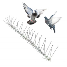 High quality PC material base stainless steel needle bird repelling thorn orchard bird repelling device