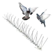 Высококачественная основа из материала для ПК, игла из нержавеющей стали, отпугивающее птиц, шип, фруктовый сад, устройство для отпугивания птиц