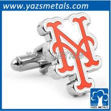 mancuernas de diseñador customiz, mancuernas por encargo de los mets de Nueva York