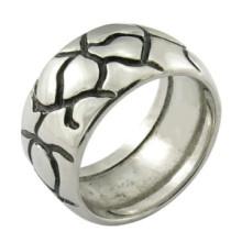 Anel de galo anel de aço inoxidável anel de homens gays