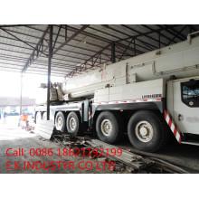 Подержанная Германия Гидравлические Liebhe Строительная техника 300ton Truck Crane (LTM1300-6.1)