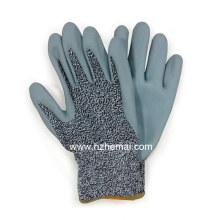 Foam Nitril Hppe Fiber Handschuhe Anti Cut Sicherheit Arbeitshandschuh