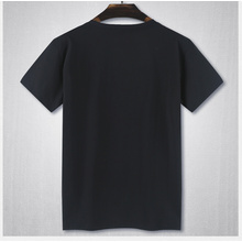 Hochwertige Plain Cotton No Brand Round Neck T-Shirt