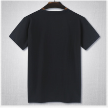 High Quality Plain Cotton No Brand Round Neck T Shirt