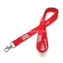 Branded Lanyards with Lobster Clasp