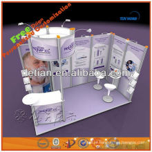 expositor portátil e modular exibe estande de shanghai001428