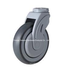 Bolt Hole Type Plastic Medical TPR Caster