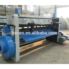Q11-4x2500 máquina de corte de chapa de acero / máquina de corte manual