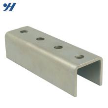 Стандарт JIS холодной гибки крен сформированный профиль из нержавеющей стали, гальванизированный стальной профиль
