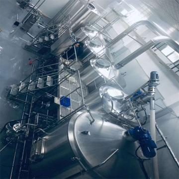 Stainless steel craft beer brewing equipment