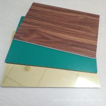Compact HPL Wall Panels Phenolic Board Wood Grain Solid Exterior Wall Panel ACP Panel