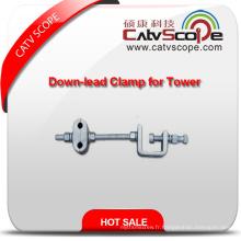 Type de fibre optique de haute qualité de Cableu d'ADSS serrant vers le bas pour la tour