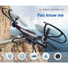 2015 Neuheit Design 4 Achsen Fpv WiFi RC Drohne mit HD 2MP Kamera RC Flugzeug Spielzeug