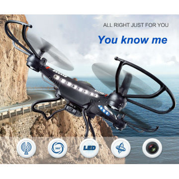 2015 Novelty Design 4 Axes Fpv WiFi RC Drone with HD 2MP Camera RC Aircraft Toy